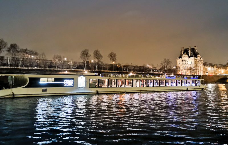 privatiser bateau Paris